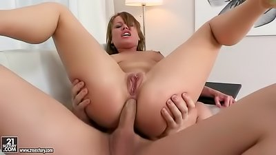 Wild sex with gorgeous blonde