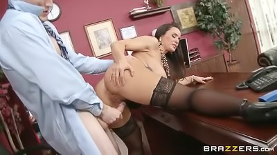 Big-tittied MILF loves deep penetration