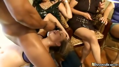 Wild women are getting drilled hard